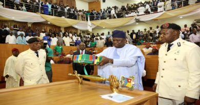 Ambode presents N1.046trn 2018 budget proposal to House of Assembly